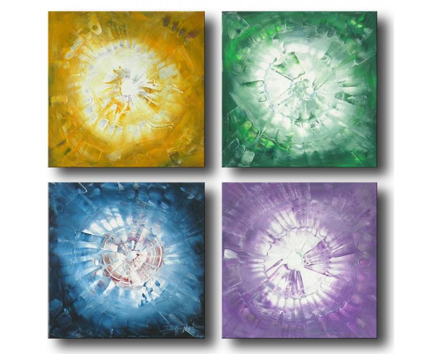 Quadro dipinto a mano: Colors 023