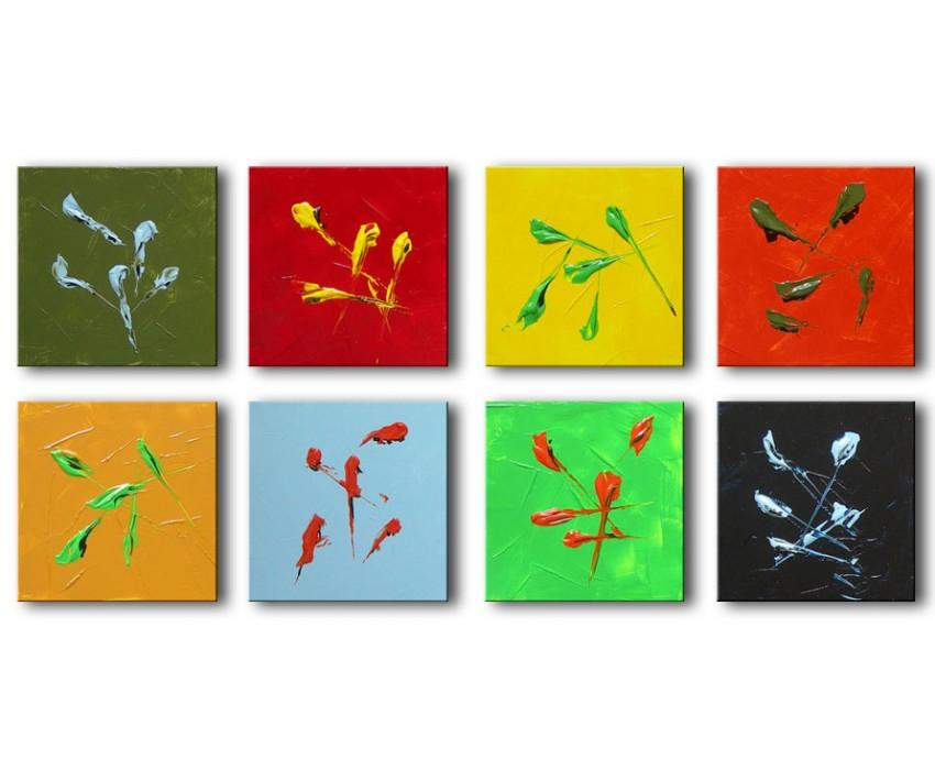 Quadro dipinto a mano: Colors 291