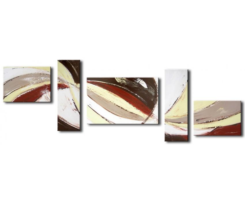 Quadro dipinto a mano: Composizione 043