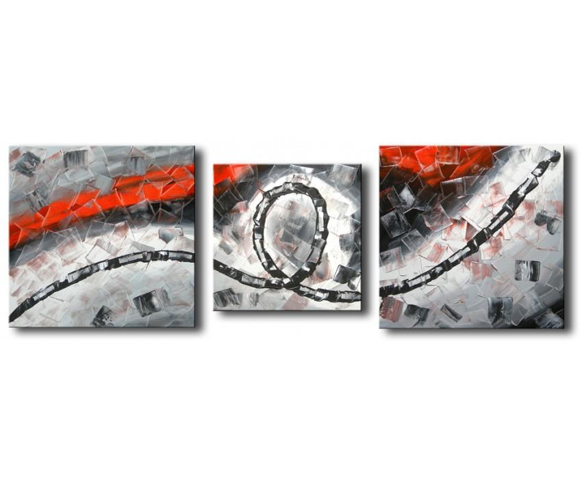 Quadro dipinto a mano: Legame 047