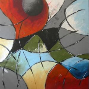 Quadro dipinto a mano: Emozioni 086