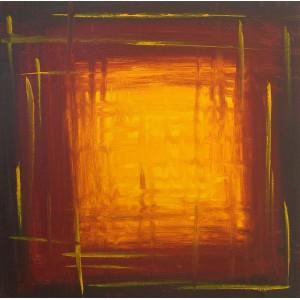 Quadro dipinto a mano: Finestre 091