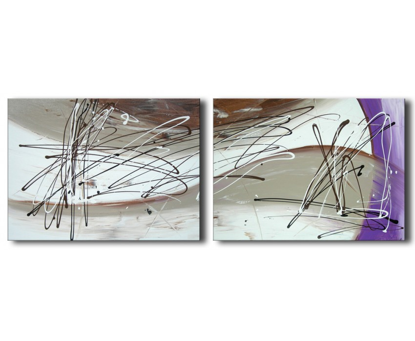 Quadro dipinto a mano: Fusione  099