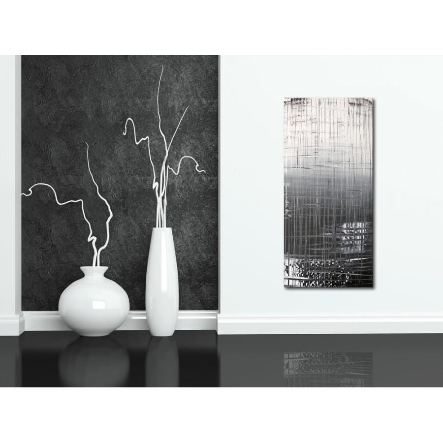 Quadro dipinto a mano graffiti 197 for Dipinti moderni bianco e nero