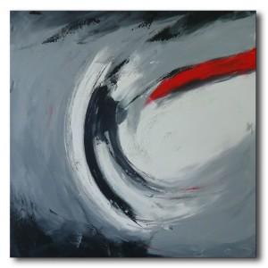 Quadro dipinto a mano: luce 721