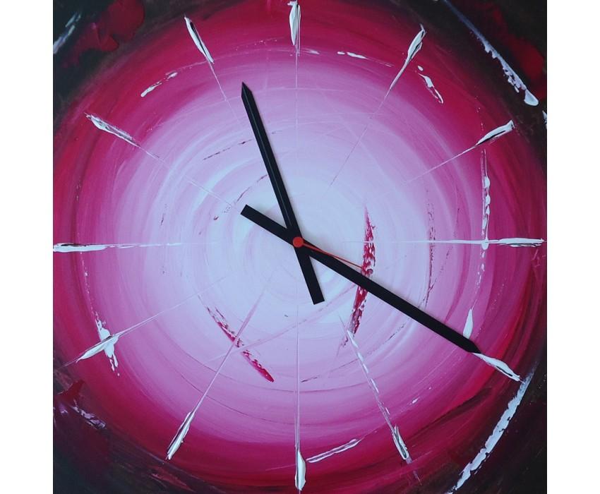Quadro dipinto a mano: Orologio 628