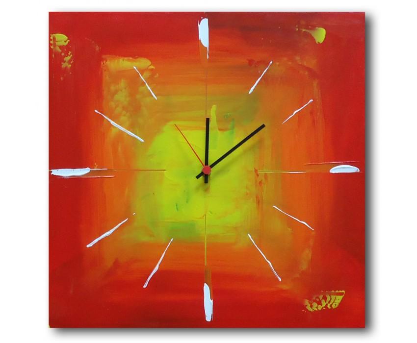 Quadro dipinto a mano: Orologio 635