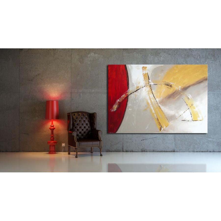 Quadro Moderno Dipinto A Mano.Quadro Dipinto A Mano Quiete 160