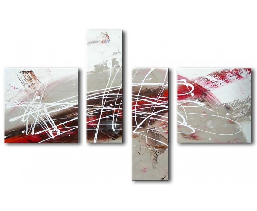 Quadro dipinto a mano: Schizzi 355