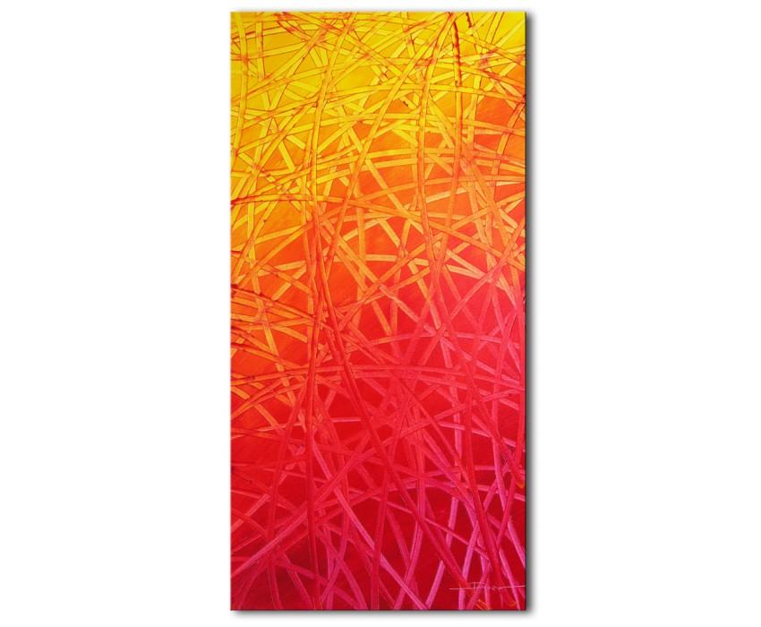 Quadro dipinto a mano: Scie 382