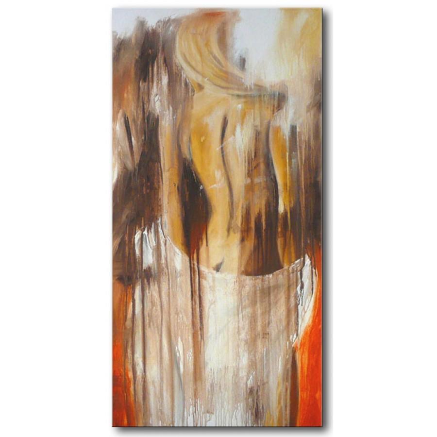 Quadro Dipinto A Mano Nudo 248