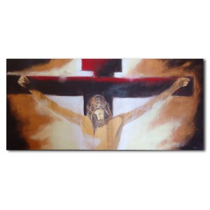 Quadro dipinto a mano: Cristo  691
