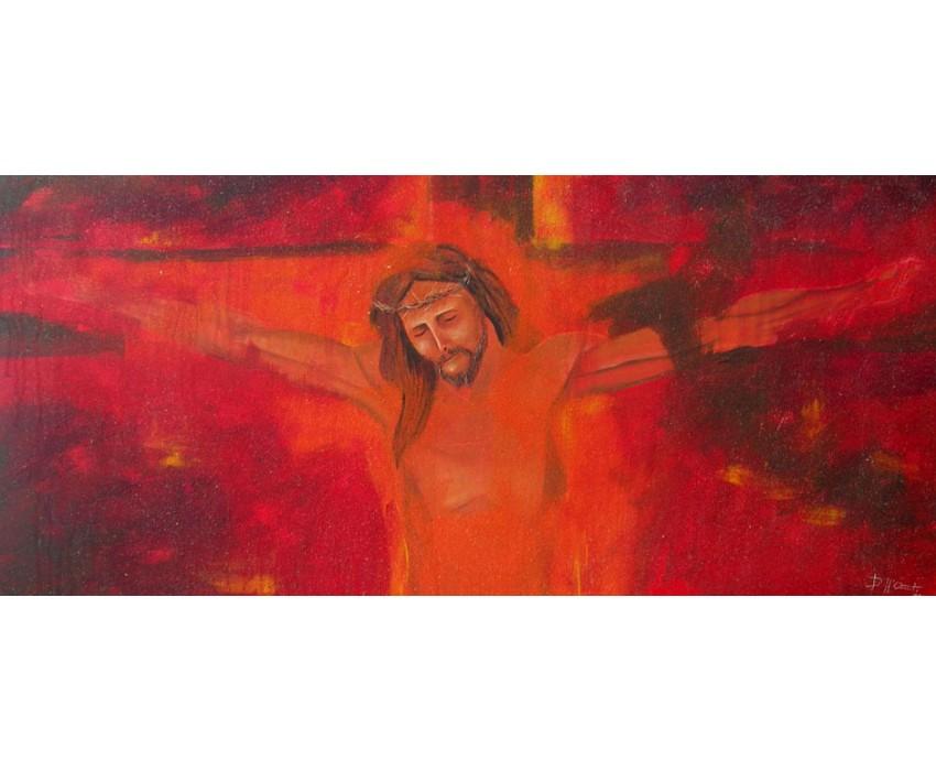 Quadro dipinto a mano: Cristo  502