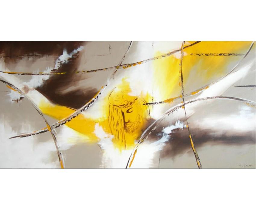 Quadro dipinto a mano: Cristo  504