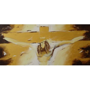 Quadro dipinto a mano: Cristo  555