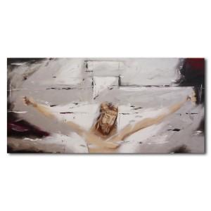 Quadro dipinto a mano: Cristo  592