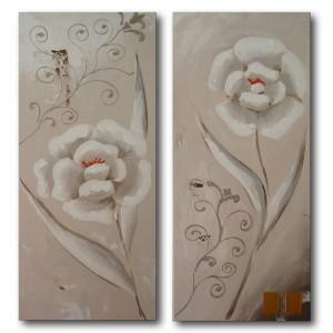 Quadro dipinto a mano: fiori 688