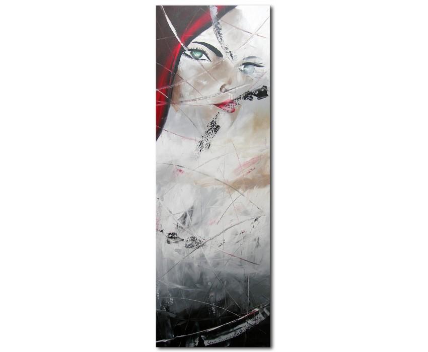 Quadro dipinto a mano: donna 407