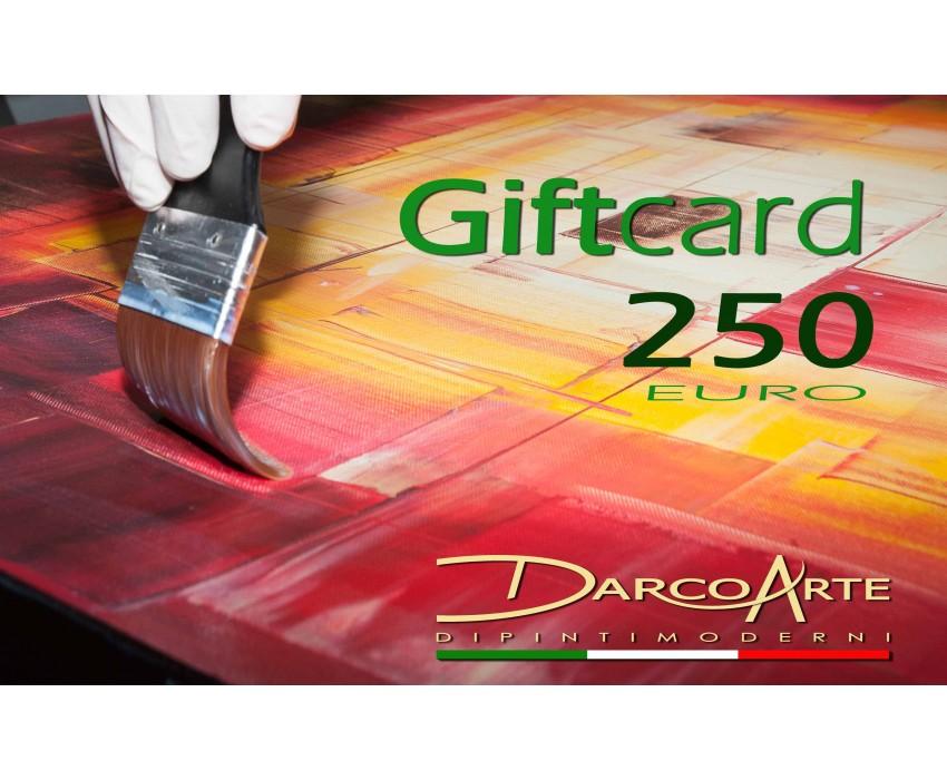 Quadro dipinto a mano: Gift card